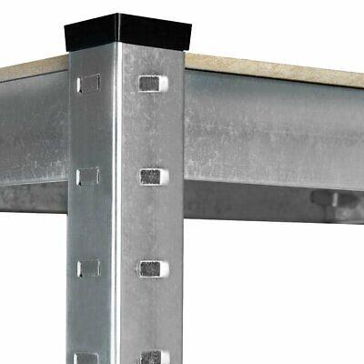 Estanteria Metalica Galvanizada 875kg 5 Baldas 180 x 90 x 40cm Ideal Garaje 7