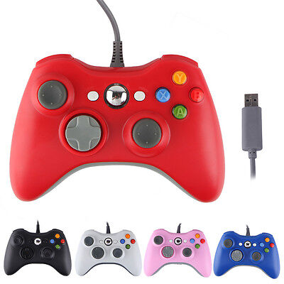USB Wireless/Wired Game Controller+Wireless Controller Keyboard For XBOX 360& PC 4