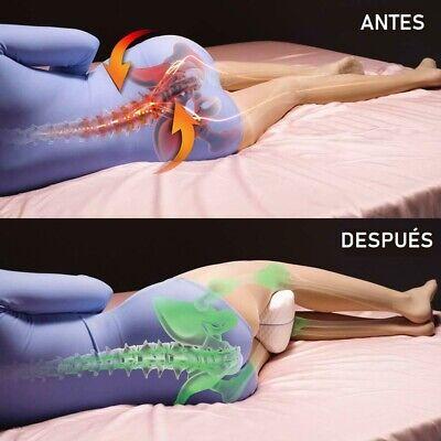 Almohada para piernas Knee Pillow Se adapta a tu cuerpo Descanso de calidad 5