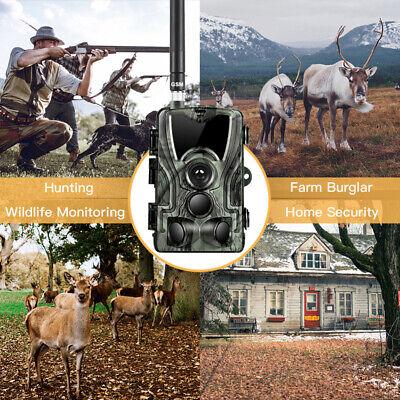 1080P Caméra de Chasse Caméra de Surveillance IR HD Nuit Vision GSM/MMS/SMTP/SMS 6