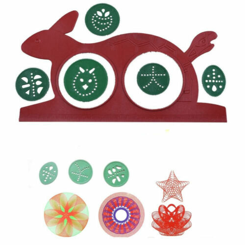 Spirograph Design Early Learning Creative Educational Toy Drawing Ruler Set NMUS