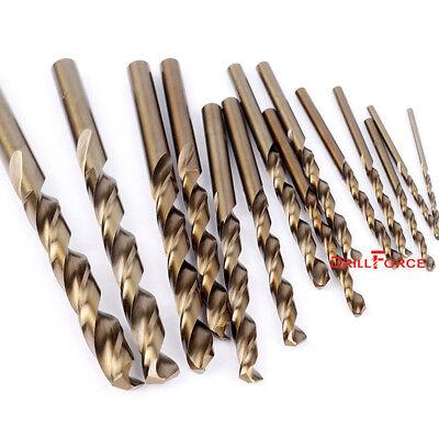 "10PCS 5/64"" Cobalt Drill Bit Set M35 HSS Jobber Length Twist Drill Bits Tools 2"