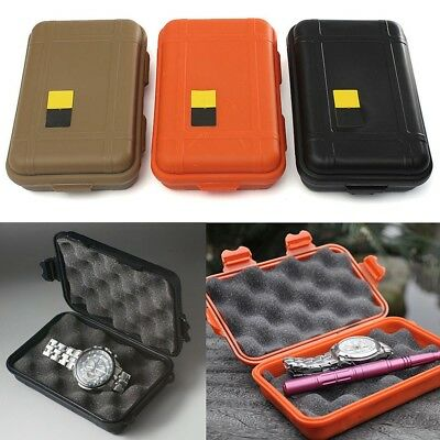 1PC Portable Shockproof Airtight Survival Plastic Case Storage Container Box 2