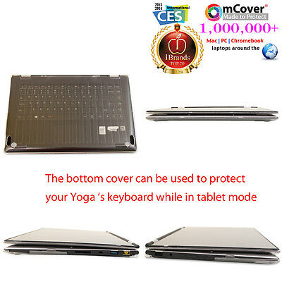 NOT Compatible with Yoga 710//720 // 910//920 Series 13 Yoga 730 Clear mCover Hard Shell Case for New 2018 13.3 Lenovo Yoga 730 Laptop