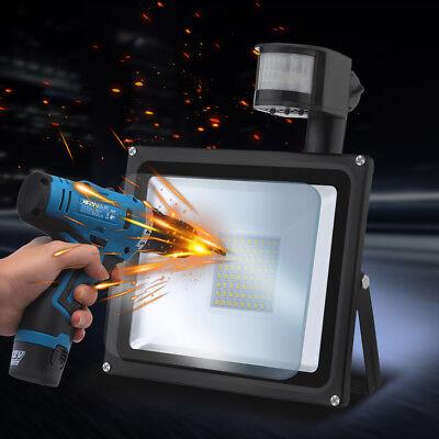 LED Flutlicht Fluter Strahler SMD Außen Scheinwerfer 10W 20W 30W 50W 100W 1000W 11