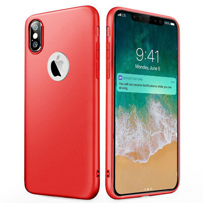 Coque Antichoc Silicone Protection Apple Iphone 6 6S 7 8 Plus Se 5S Xr X Xs Max