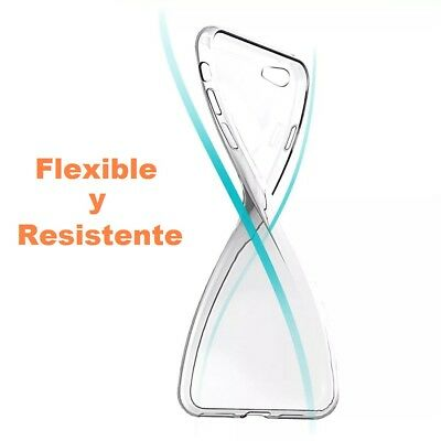 Funda Silicona para ALCATEL POP 4 PLUS Carcasa Transparente Protector s412 2