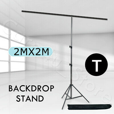 Photo Video Black/White/Green Screen Backdrop Background Support Stand Reflector 5