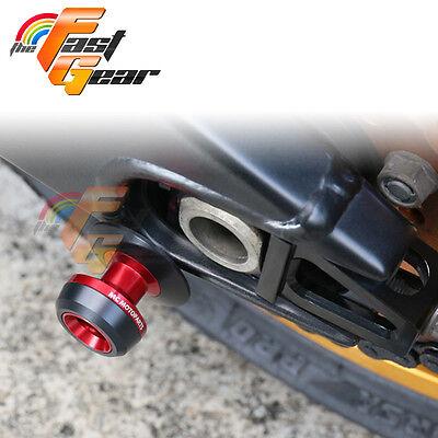 Twall Protector Red  Swingarm Spools Sliders Fit Kawasaki ER6N/F 2005-2015
