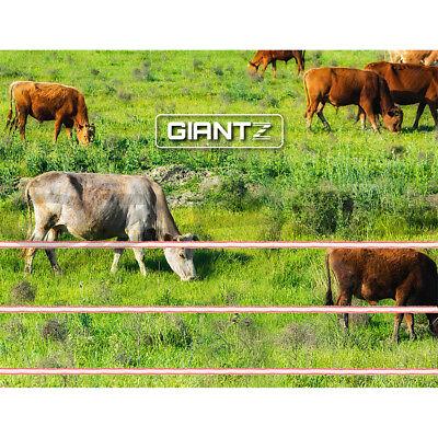 Giantz 3km Solar Electric Fence Energiser Energizer Battery Charger Cattle Horse 11