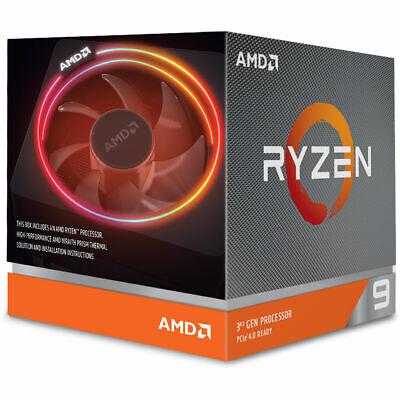 NEW AMD Ryzen 3 5 7 9 3600 3700X 3800X 3900X AM4 Desktop Computer CPU Processor 8