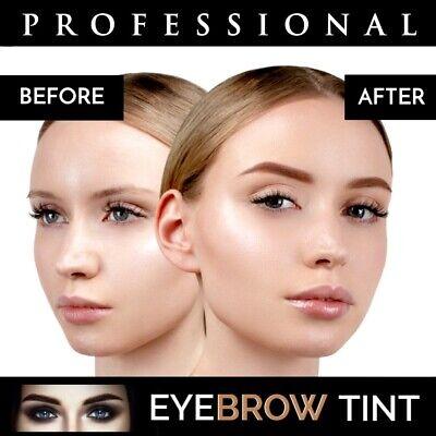 Professional EYEBROW HENNA Brow Eyelash TINT Dye Cream Black Brown Graphite 15ml 7