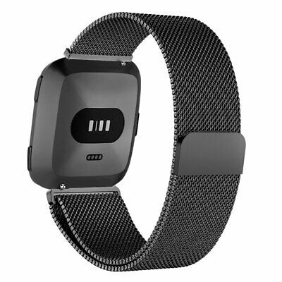 For Fitbit Versa 2/Versa/Versa Lite Milanese Replacement Strap Bands Bracelet UK 4