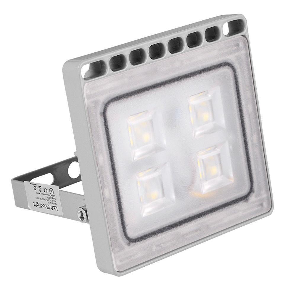 8×20W 220V Projecteur LED Spot Extérieur détecteur Eclairage lampe de jardin 6