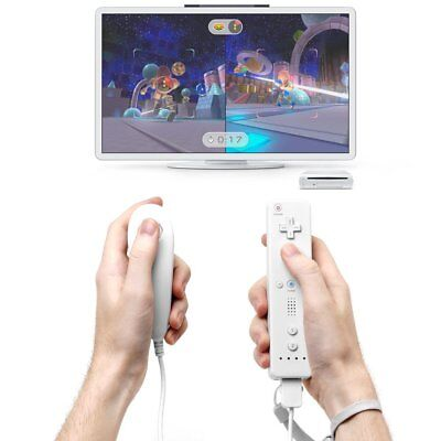 Wii Remote Controller Motion Plus and Nunchuck for Wii/Wii U Console Video Games 11