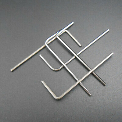 10Pcs M3 L-Handle Hardened Steel Hex Allen Hexagon Key Socket Wrench 1.5MM Edge 4