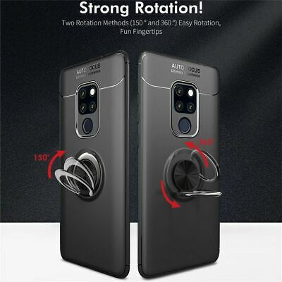 Samsung Galaxy S10 Plus S10E Luxury Magnetic 360 Ring Holder Phone Case Cover 2