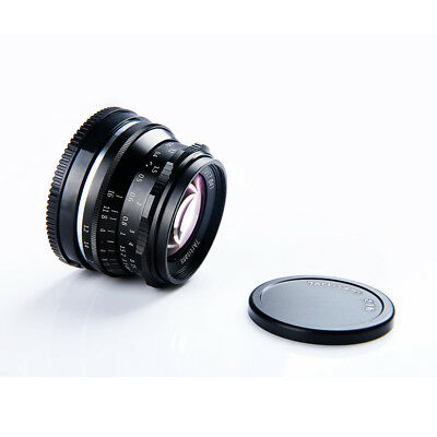 7ARTISANS 35MM F1 2 Manual Focus Lens for Sony A7 A7R /M4/3/Fuji GH5 X-T2  Camera