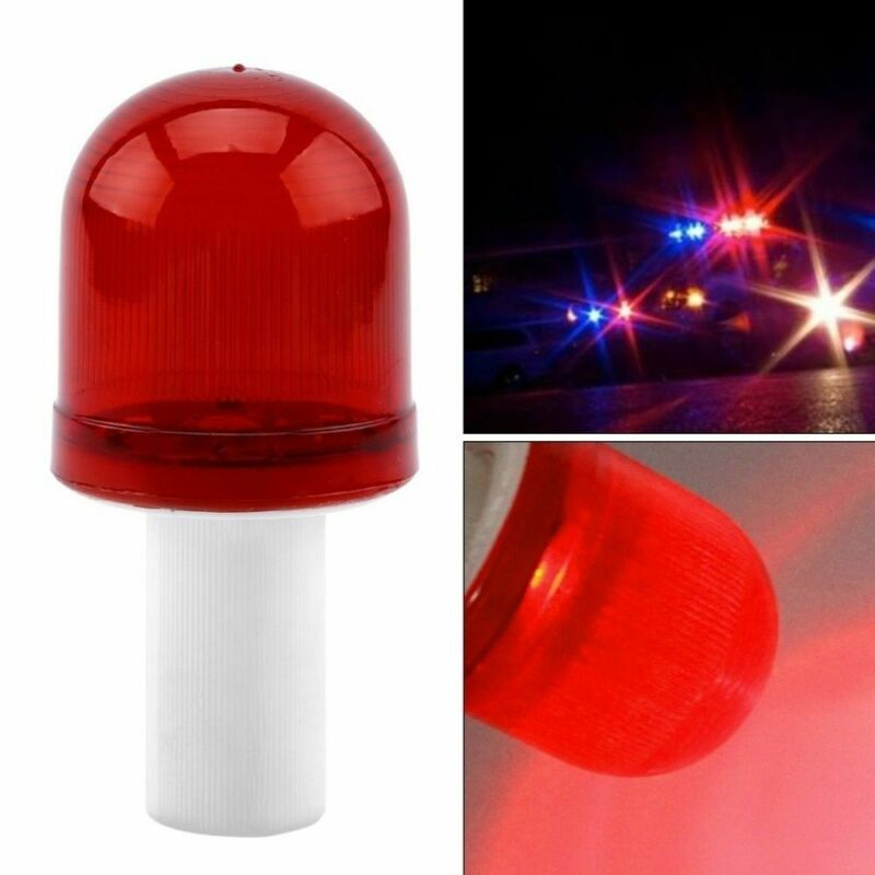 LED Roadway Emergency Road Light Traffic Cone Hazard Skip Light Warning Lamp 4