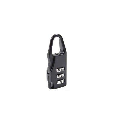 5 Pcs Mini 3 Digit Resetable Combination Travel Luggage Suitcase Lock Padlock 2