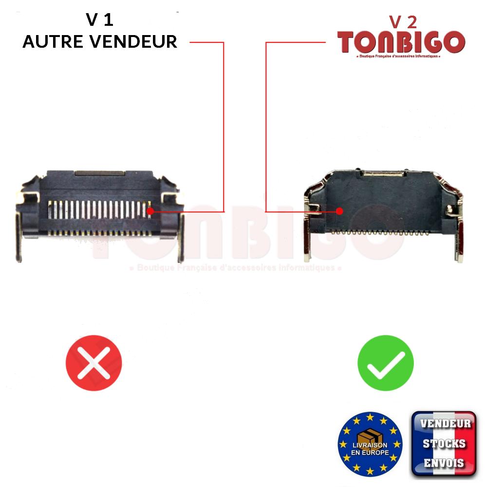Connector HDMI Playstation 4 PS4 - Port V2 socket  19 pin - CUH 1004 1216 1116 2