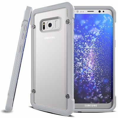 For Samsung Galaxy S8+ Plus Case Hybrid TPU ShockProof Protective Rugged Cover 11