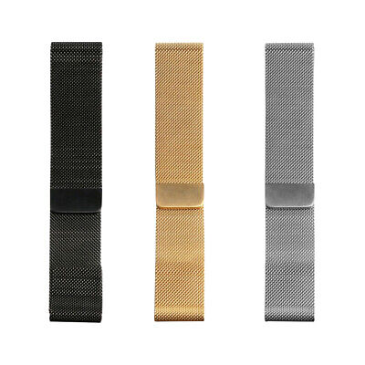 For Apple Watch Series 5 4 40mm 44mm Magnetic Milanese Loop Band Stainless Steel 3