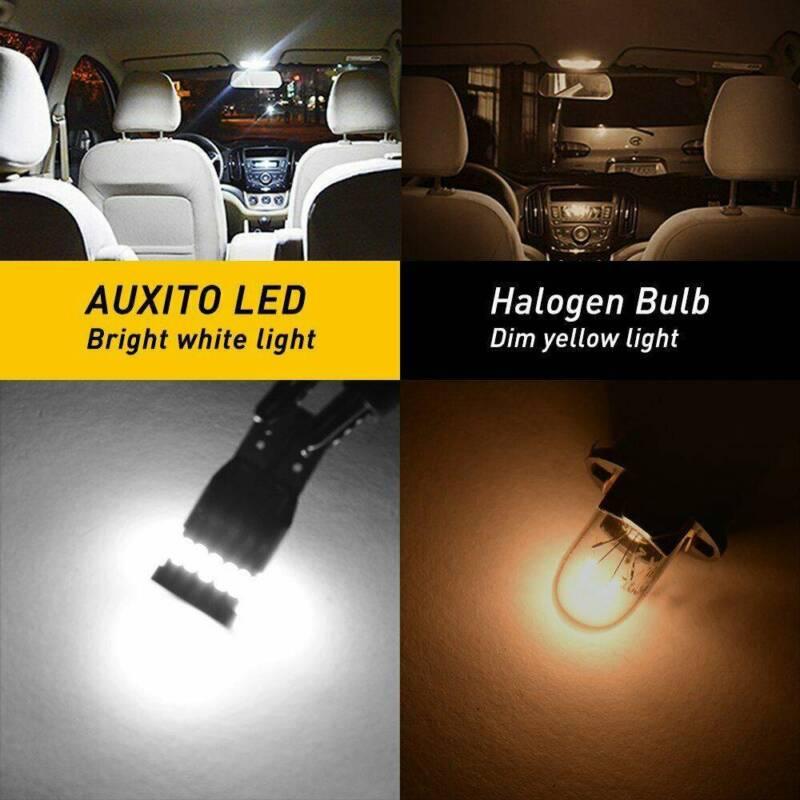 2X T10 501 194 W5W SMD 24 LED Car CANBUS Error Free Wedge Light Bulb White 2
