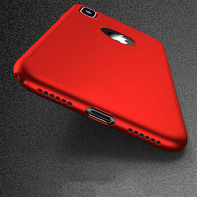 For iPhone 11 6s 7 8 5s Plus XR XS Case Shockproof360 Bumper Hybrid Phone Cover 6