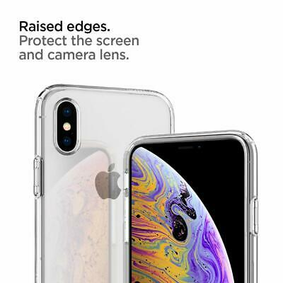 iPhone XS Max XR X Case Genuine SPIGEN Liquid Crystal SLIM CLEAR Cover for Apple 6