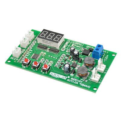 12V Dual Ways / PWM PC CPU Fan Digital Temperature Control Speed Controller UK 7