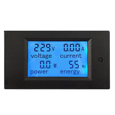 Contador Electrico Digital Medidor de Consumo Voltaje Amperimetro 100A 80-260V 5
