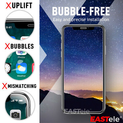 EASTele HYDROGEL AQUA FLEX Screen Protector Apple iPhone XS Max XR X 8 7 6s Plus 5