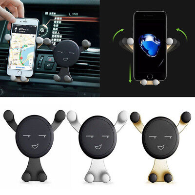 360 Car Air Vent Mount Cradle Holder Stand for Smart Cell Phone Holders Support 4
