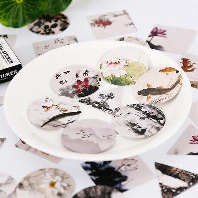 40pcs Creative Japanese Stickers Kawaii Stationery DIY Scrapbooking Decorations 2