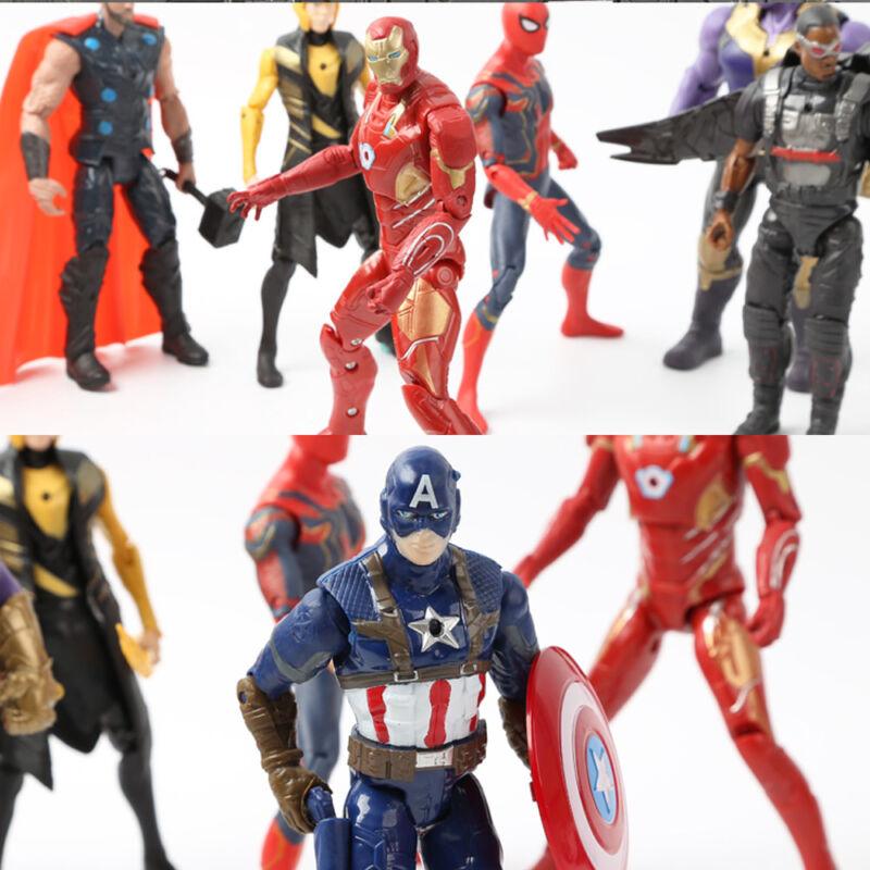 20Stk Avengers Infinity War Figuren Thanos Marvel Actionfigur Spielzeug Sammlung 2