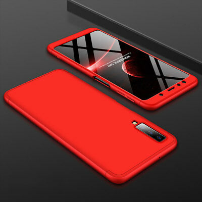 For Samsung Galaxy A7 2018/A750 J4 J6 Plus Case 360° Full Protective Armor Cover 9