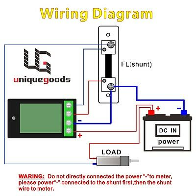dsn vc288 wiring dsn image wiring diagram dc 6 5 100v 20 50 100a lcd digital display volt amp power watt on dsn