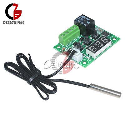 -50-110°C Red W1209 Digital thermostat Temperature Control Switch 12V + Sensor 3