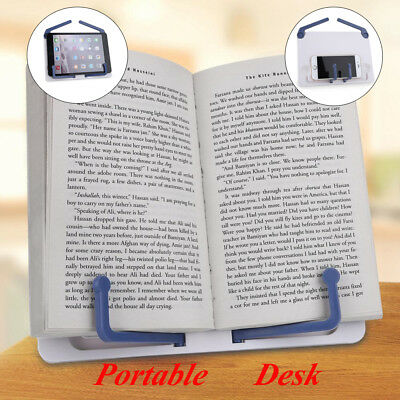 Folding Adjustable Desktop Sheet Music Stand Holder Table Top Cook Book Stand 8