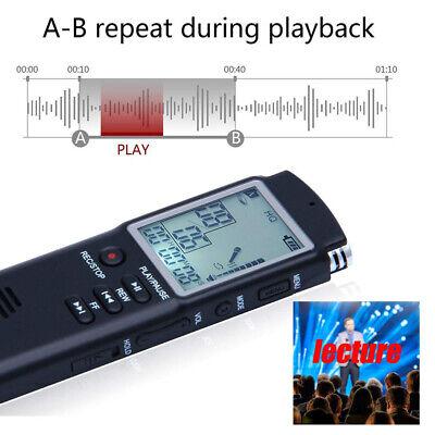 32G Voice Activated Mini Spy Digital Sound Audio Recorder Dictaphone MP3 Player 10
