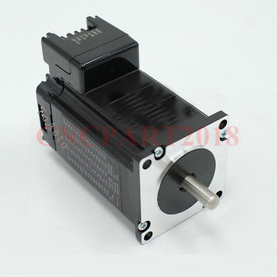 Integrated 2 in 1 Nema23 Stepper Motor L76mm 3A 1.8Nm Shaft 8mm for CNC Router 8