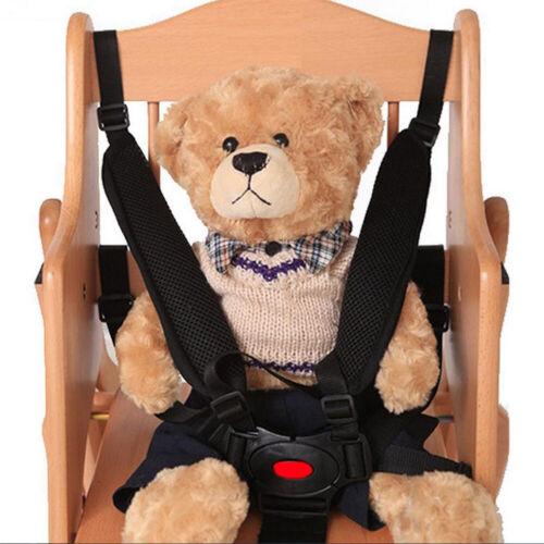 Kids 5 Point Safety Harness Stroller Baby Car Belt Strap High Chair Pram Buggy^ 3