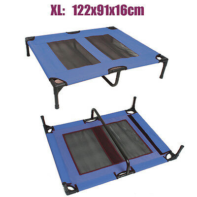 4 Size Heavy Duty Pet Dog Bed Trampoline Hammock Canvas Cat Puppy Cover AU Stock 2