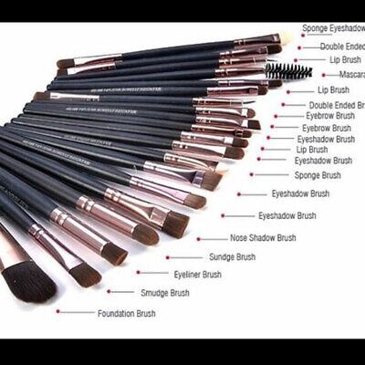 20pcs Makeup BRUSHES Kit Set Powder Foundation Eyeshadow Eyeliner Lip Brush NEW 2