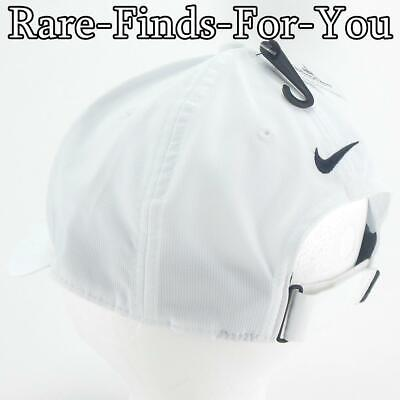 Disney Parks Nike Dri Fit Mickey Mouse White Grey Golf Baseball Cap Hat NEW/TAGS 8