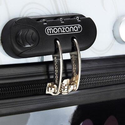 Monzana® Hartschalenkoffer Butterfly Trolley Reisekoffer Koffer M L XL 4 Rollen 7