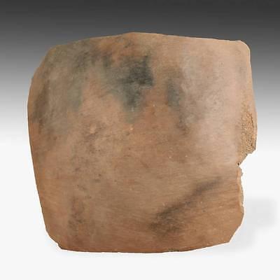 Rare Antique Offrenda Votive Tablet Painted Pottery Chucu Arequipa Peru 13Th C. 2