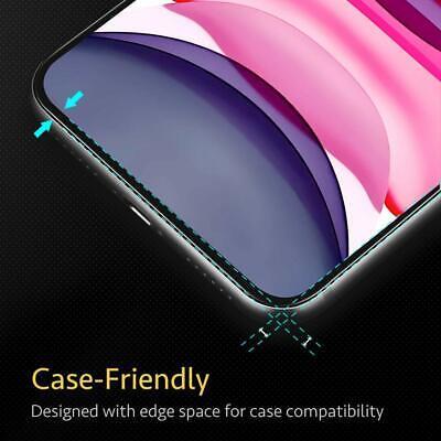 vitre verre trempe film de protection iPhone 11/11 Pro Max/XS/XR/X 8 7 6 LOT/5 4