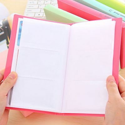120 Pockets Collection Photocard Book Lomo Card Holder Photo Album Card Stock 6